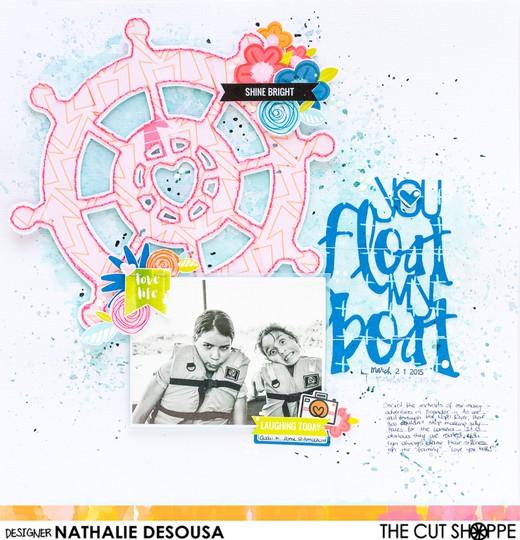 Tcs nathalie desousa you float my boat 2 original