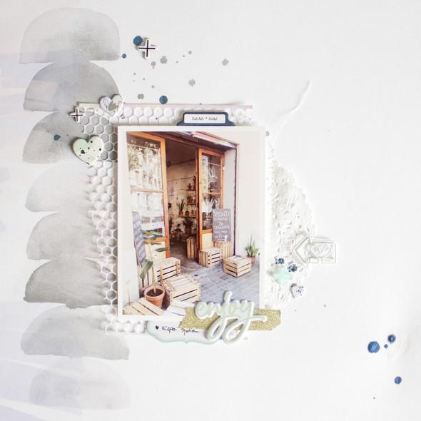 Enjoy scatteredconfetti scrapbooking layout pinkfreshstudio apli 1 original
