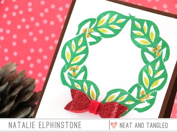 Leaf wreath 2 original