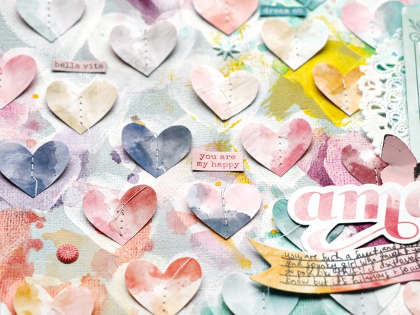 Amazing love you detail 2 by paige evans original