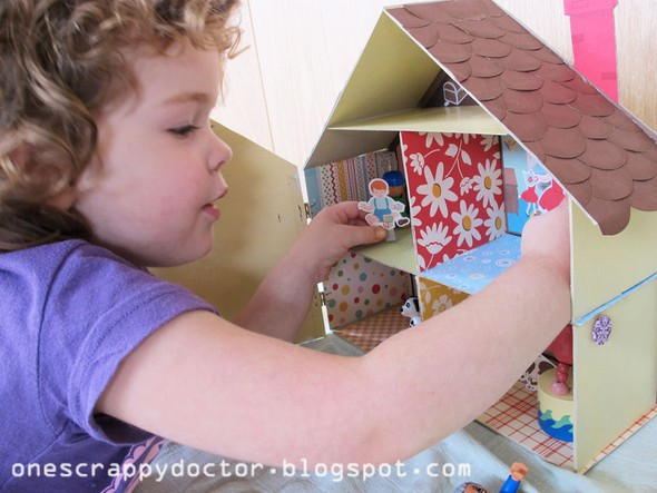 Doll house bethany playing