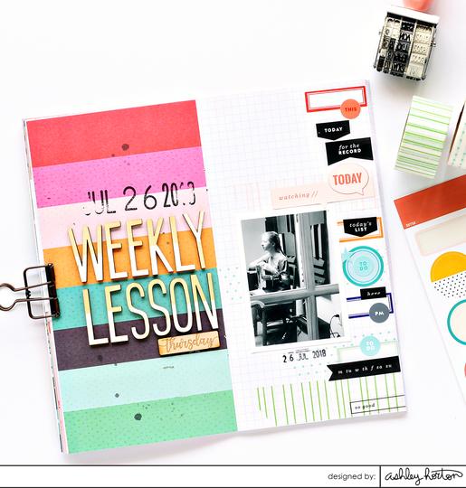 Weekly lesson original
