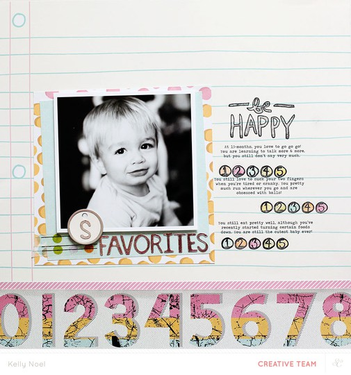 Be happy   studio calico sandlot kit   kelly noel
