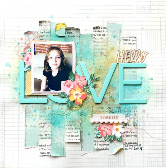 Sc hello love layout original