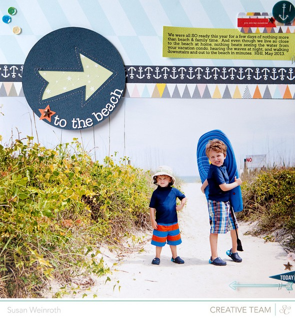 To the beach   blog challenge   susan weinroth