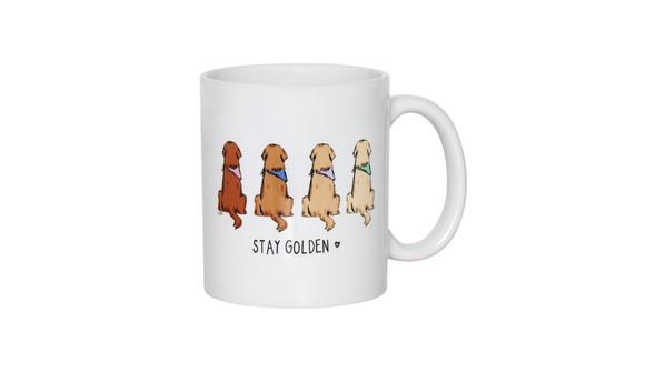 79755 golden retriever mug front original