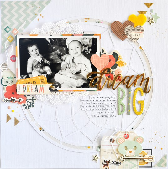 Dream big raquelbowman original