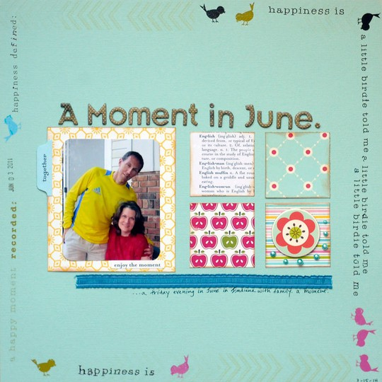 A moment in june