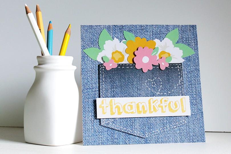 Chickaniddy crafts carson riutta thankful card