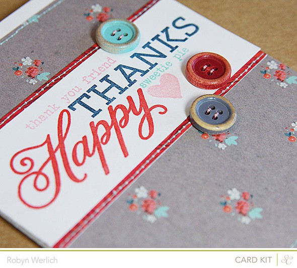 Rwerlich happy thanks card closeup