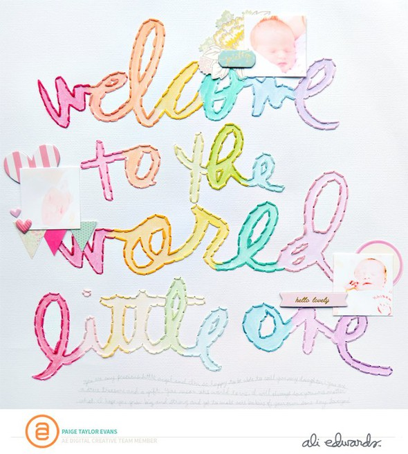 Welcome by paige evans original