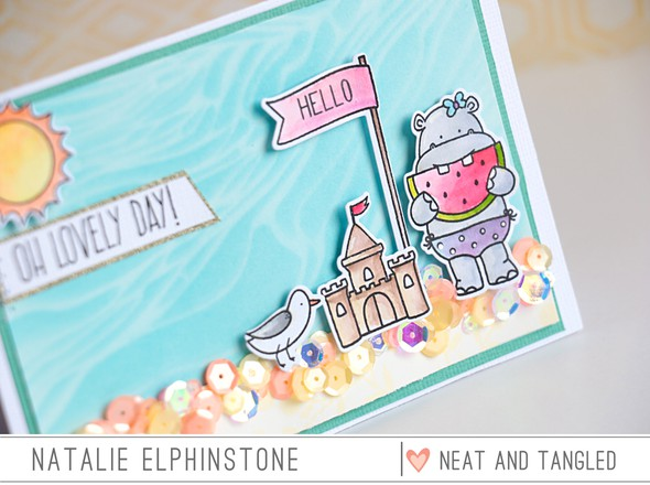 Lovely day detail by natalie elphinstone original