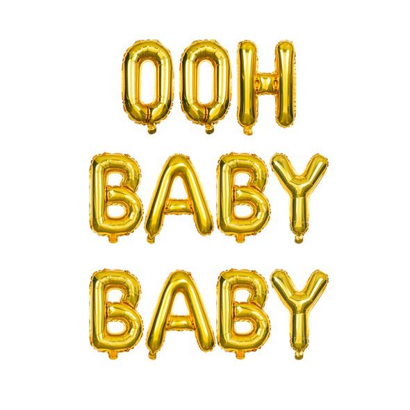 Sdiy shop balloons ooh baby baby original