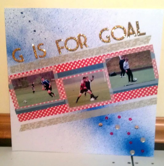 G is for goal
