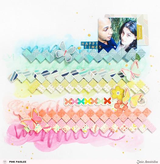 Pinkpaislee rainbowstrips 6 original