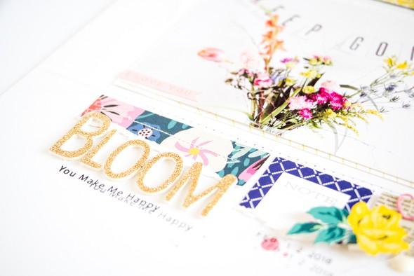 Bloom scatteredconfetti scrapbooking layout citrustwistkits february cratepaper 5 original