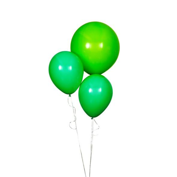 Sdiy shop balloons round light green 2 original