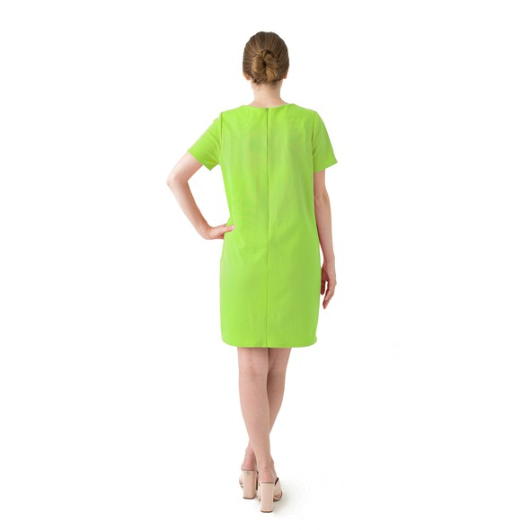 Green dress product listing backnew original