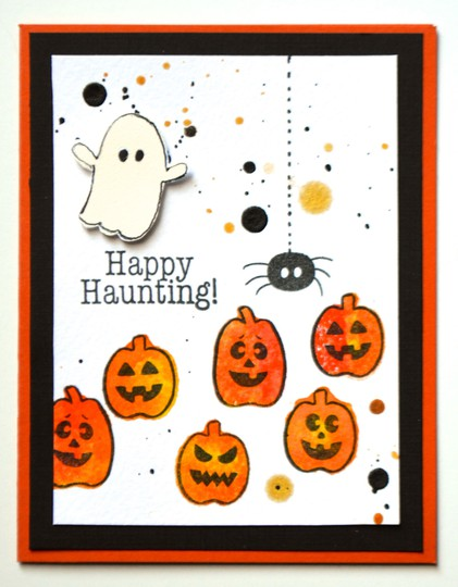 Happy haunting card original