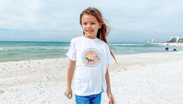 146568 happier than a seagull with a french fry short sleeve tee kids white slider1 original