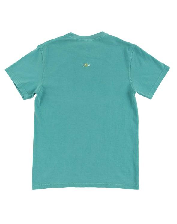 154075 simple beach happy comfort colors short sleeve tee seafoam women slider 6 original