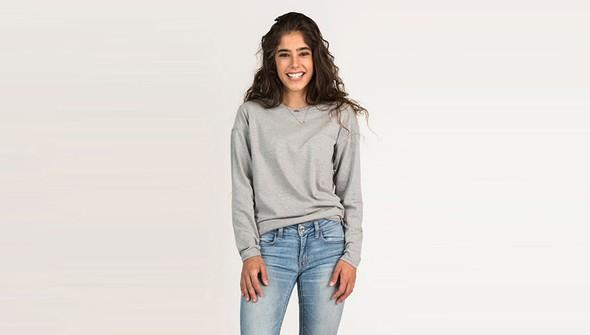 Basic longsleevewomen gray slider1 original