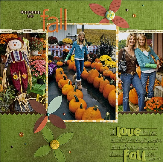Colors of fall web
