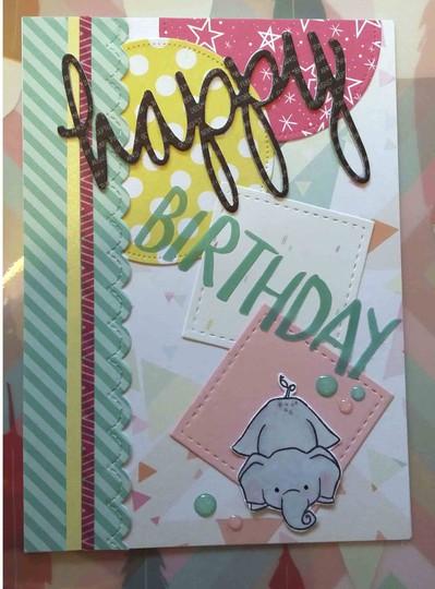 Birthday card original