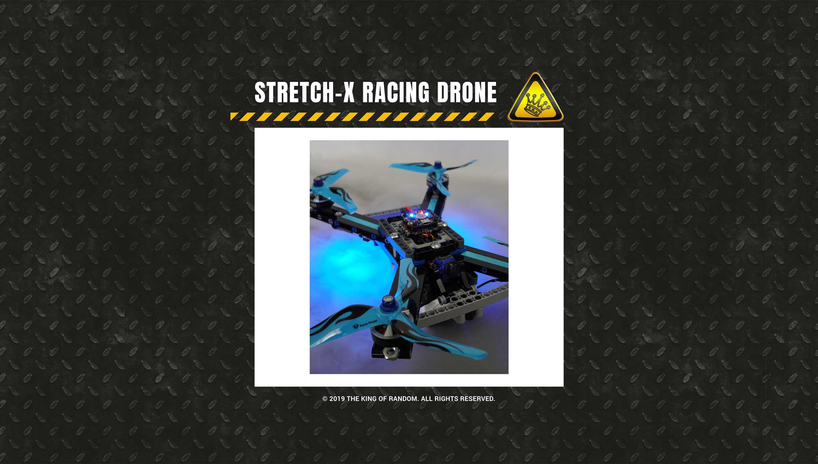 Lego Technic Racing Drone