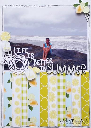 Scrapbook summer cari 01
