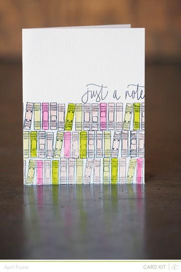 Card spauldingbowl justanote