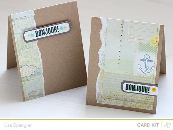 Bonjour2 cards