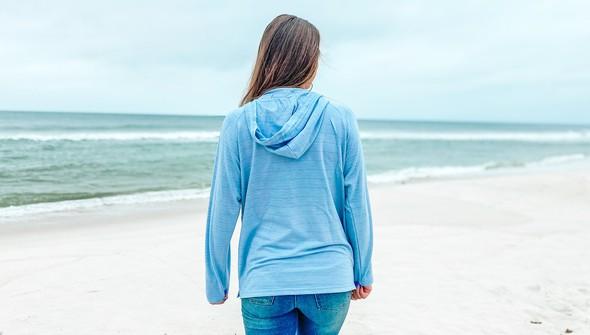 121783 simple beach happy french terry hoodie women dusty blue slider5 original