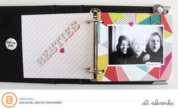 Szayas hellofriends minibookpage original