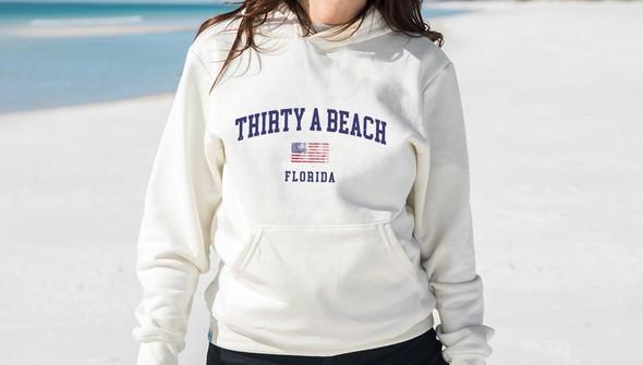 134908 thirtya beach usa hooded sweatshirt women cream slider2 original