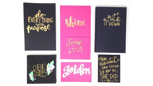 Smitha katti golden hand lettering original