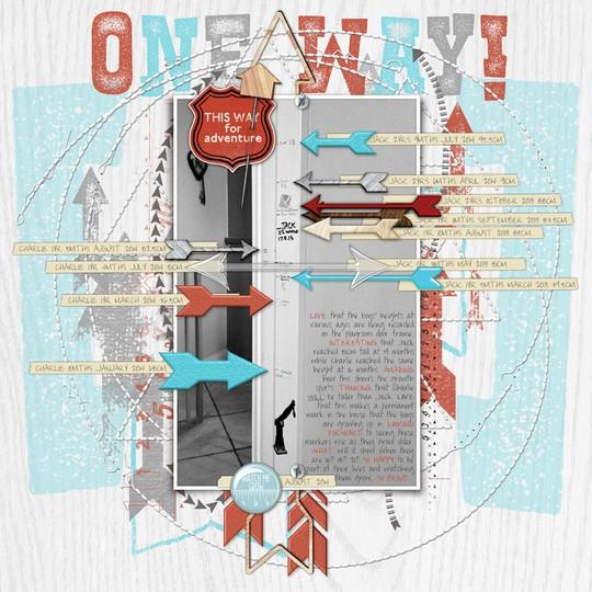 One way!   charting challenge aug 2014 72