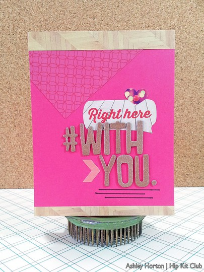 Right here with you1