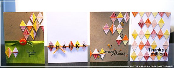 Argyle cards