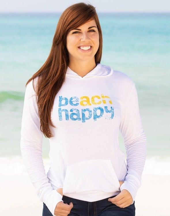 108507 beach happy pullover hoodie white women slider 1 original