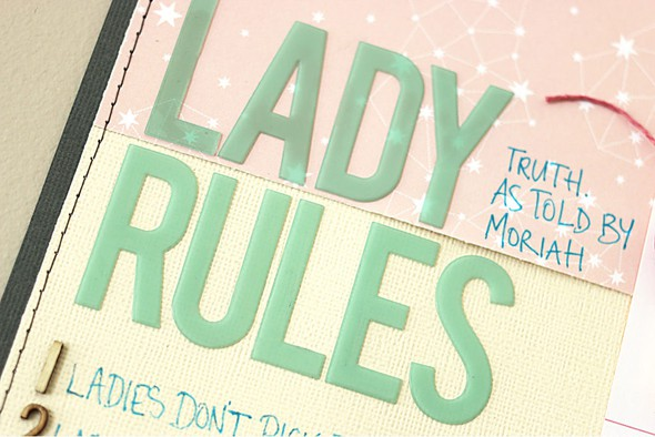 Lady rules title