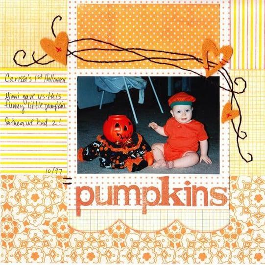 Pumpkins 8x8