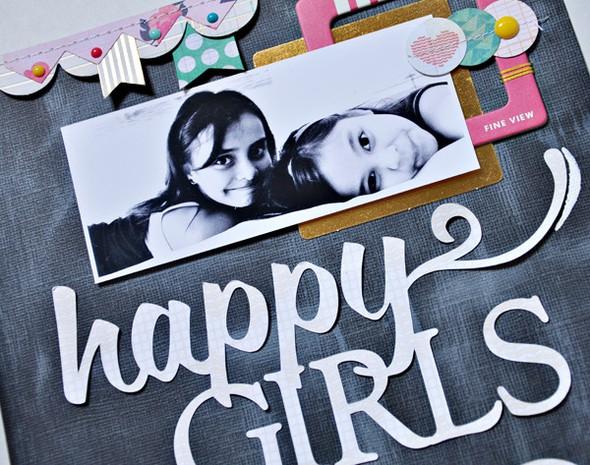 Happy girls2 closeup