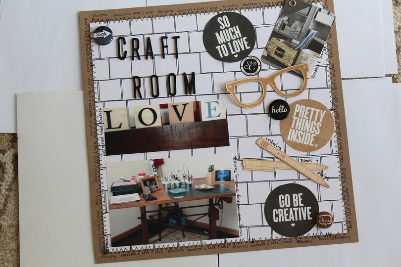Craft room love original