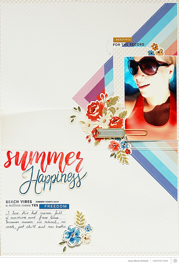 Summer happiness original