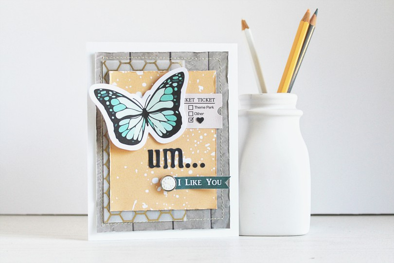 Chickaniddy date night i like you card