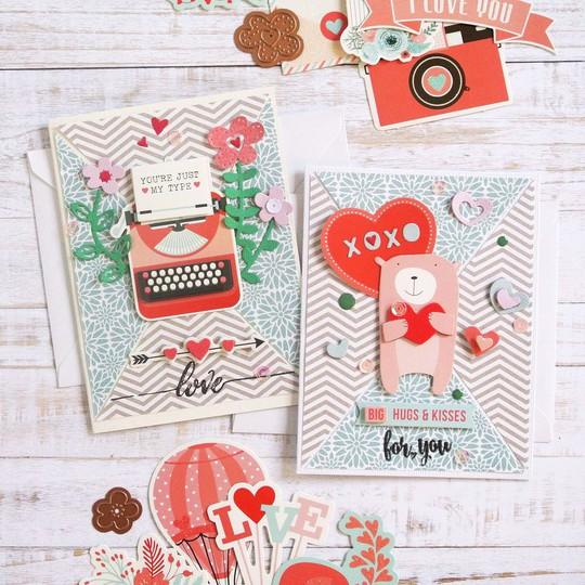 Spellbinders elodie lusseau january kit cards 4 original