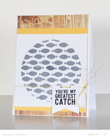 Card kit catch fish
