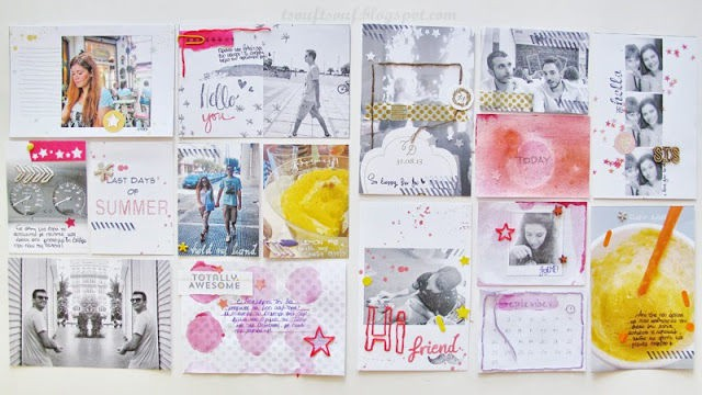 Creativetsouf projectlife pages i
