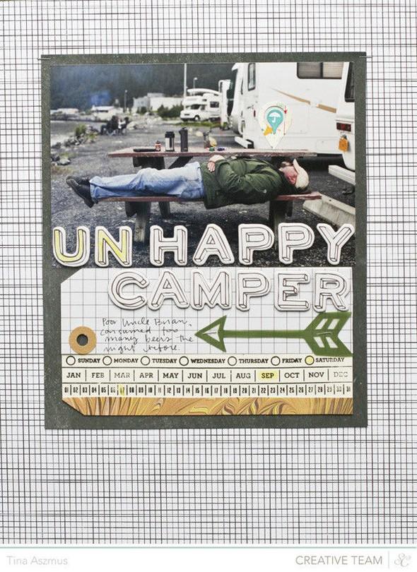 Un happy camper